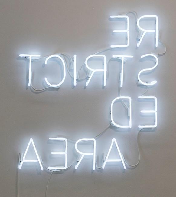 RESTRICTED AREA by Glenn Kaino contemporary artwork