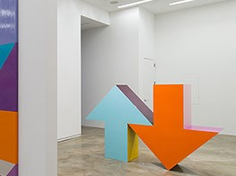 Pointlessness is the point: Tony Tasset and his arrow at Kavi Gupta