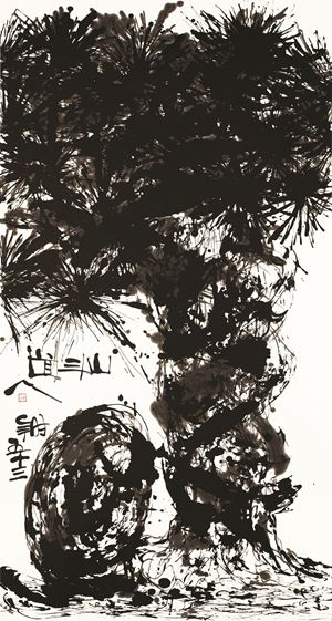 Pine No.1123 by Wesley Tongson contemporary artwork