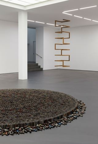 Exhibition view: Roman Ondak, Perfect Society, Esther Schipper, Berlin (13 September–26 October 2019). Courtesy the artist and Esther Schipper, Berlin. Photo: Andrea Rossetti.