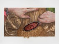 Knotted by Trey Abdella contemporary artwork painting, mixed media
