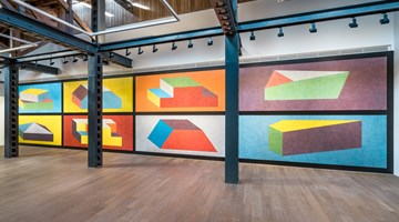 Contemporary art exhibition, Sol LeWitt, Wall Drawings at Perrotin, Shanghai