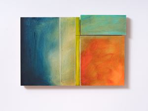 Sunset Painting (2) by James Ross contemporary artwork
