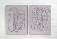 diary (front/back) III by Campbell Patterson contemporary artwork painting