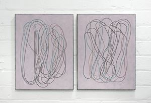 diary (front/back) III by Campbell Patterson contemporary artwork
