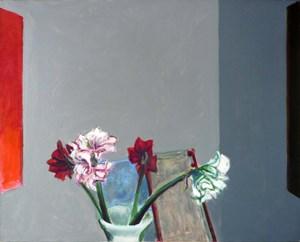 Amaryllis by Norbert Tadeusz contemporary artwork painting