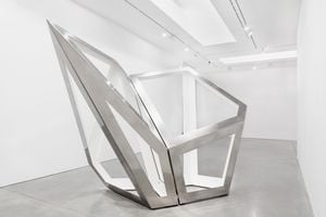 Twofold Way CD (White) by Richard Deacon contemporary artwork sculpture