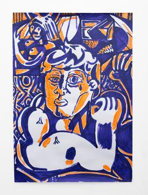 Strong Man 5 by Callan Grecia contemporary artwork