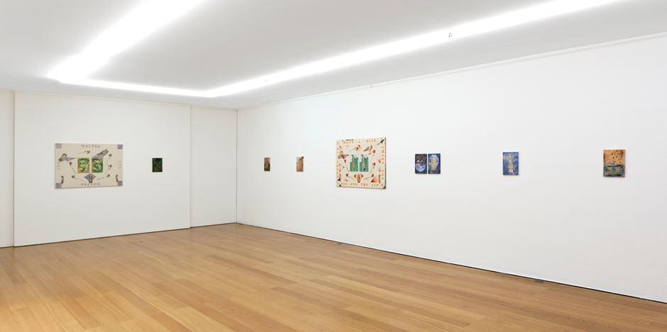 Exhibition view: Elif Saydam, Everybody's Fool,Galerie Rüdiger Schöttle, Munich (4 December 2020– 27 February 2021). Courtesy Galerie Rüdiger Schöttle. Photo: Wilfried Petzi.