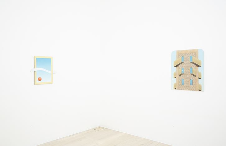 Exhibition view: Adrian Hobbs, Basic Ingredients, Gallery 9, Sydney (22 May–15 June 2019). Courtesy Gallery 9, Sydney.