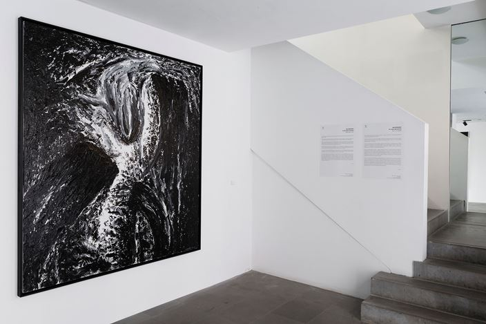 Exhibition view: Ma Desheng, Au cœur des pierres, A2Z Art Gallery, Paris (8 October–31 October 2020). Courtesy A2Z Art Gallery.