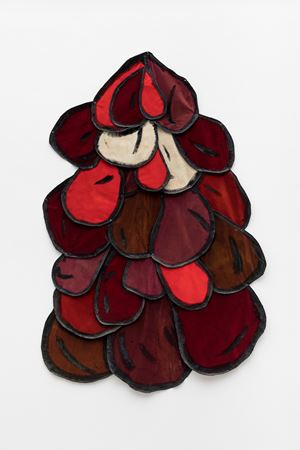 Gotas Coloridas III by Leda Catunda contemporary artwork