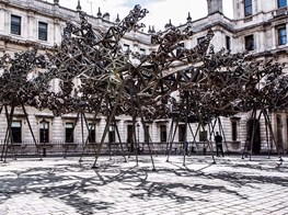 Conrad Shawcross: 'Inverted Spires and Descendent Folds' at Victoria Miro