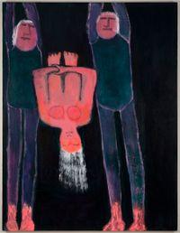 Somersault by Katherine Bradford contemporary artwork painting