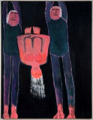 Somersault by Katherine Bradford contemporary artwork