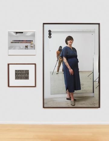 Exhibition view: Group Exhibition,Studio Photography1887–2019,Simon Lee Gallery, New York (27 June–16 August 2019).Courtesy Simon Lee Gallery.