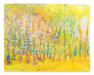 Yellow Woods by Wolf Kahn contemporary artwork