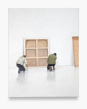 Unpacking by Tim Eitel contemporary artwork