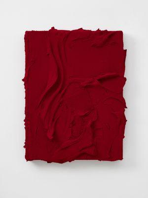 Thysia (Quinacridone red / Quinacridone scarlet) by Jason Martin contemporary artwork