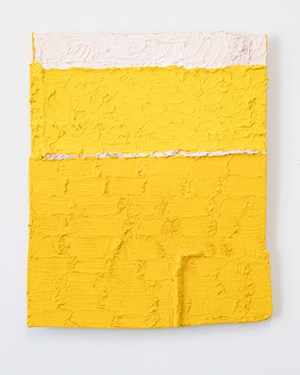 Untitled (yellow) by Louise Gresswell contemporary artwork