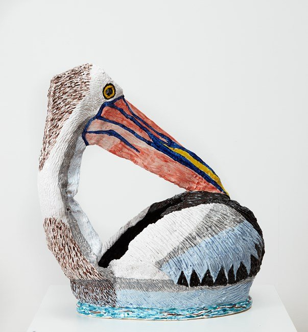 Pelican 2 by Peter Cooley contemporary artwork