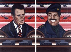 Gulf War by Roger Brown contemporary artwork