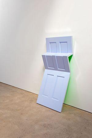 Raise Your Vibration by Jim Lambie contemporary artwork