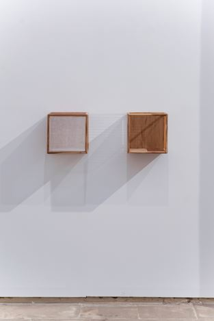 Astha Butail, A circular relationship (2019). Exhibition view: Group Exhibition, As far as the Forest is, KEWENIG, Palma (23 March–22 June 2019). Courtesy KEWENIG.