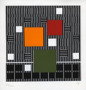 ST (87/100) by Jesús Rafael Soto contemporary artwork