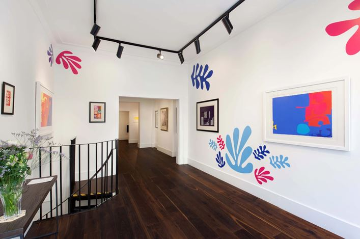 Exhibition view: Group exhibition, Modern Mavericks,Dellasposa Gallery, London (5–21 September 2020). Courtesy Dellasposa Gallery.