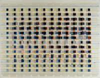 field data in dots per inch by Tanya Goel contemporary artwork painting