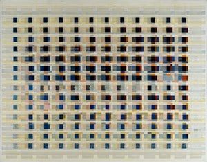 field data in dots per inch by Tanya Goel contemporary artwork