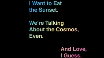 Contemporary art exhibition, Group Exhibition, I Want to Eat the Sunset. We're Talking About the Cosmos, Even. And Love, I Guess. at Almine Rech, New York