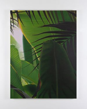 Banana VIII by Marcel Vidal contemporary artwork painting