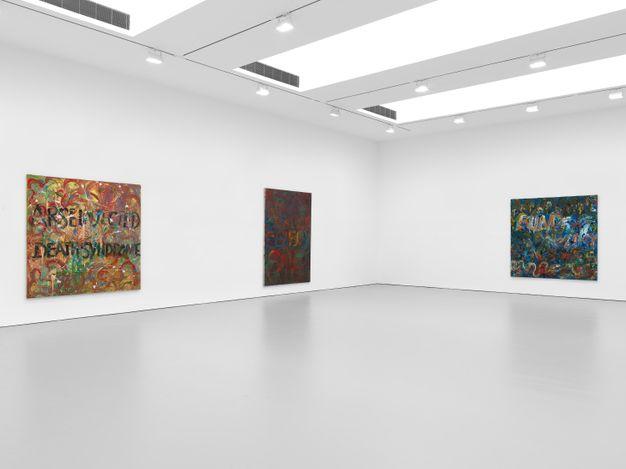 Exhibition view: Derek Jarman, More Life: Derek Jarman, David Zwirner, 19th Street, New York (24 June–3 August 2021). Courtesy David Zwirner.