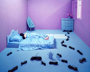 Oversleeping by JeeYoung Lee contemporary artwork