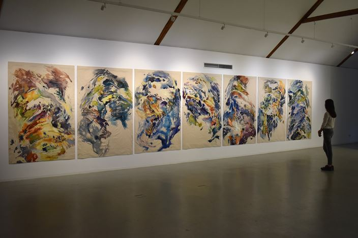 Anne Kagioka Rigoulet, Element,Masahiro Maki Gallery, Tokyo(24 January–15 February 2020). CourtesyMasahiro Maki Gallery.