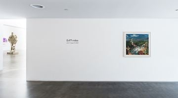 Contemporary art exhibition, Group Exhibition, 5,471 miles at Blum & Poe, Los Angeles, USA