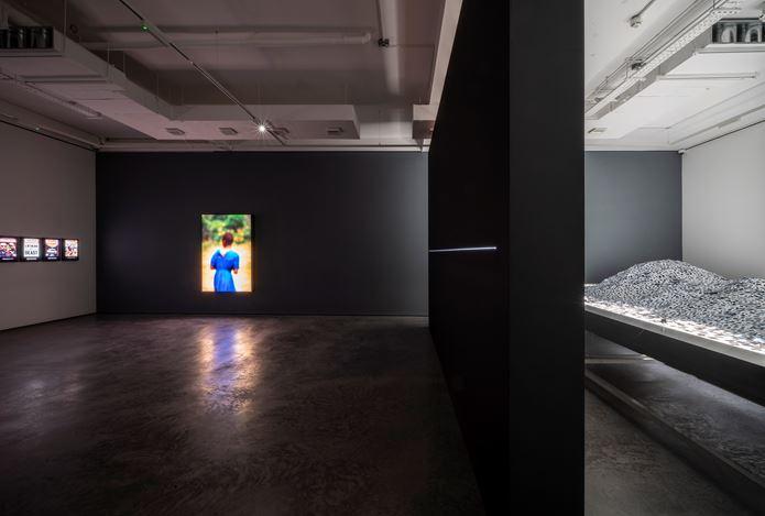 Exhibition view: Alfredo Jaar,25 Years Later, Goodman Gallery, London (14 November 2019–11 January 2020). Courtesy Goodman Gallery.