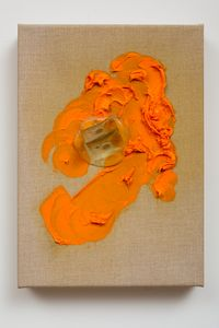 Orange Light I by Judy Darragh contemporary artwork mixed media