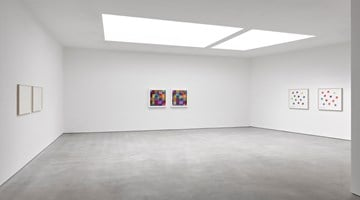 Contemporary art exhibition, Spencer Finch, No Ordinary Blue at Lisson Gallery, London