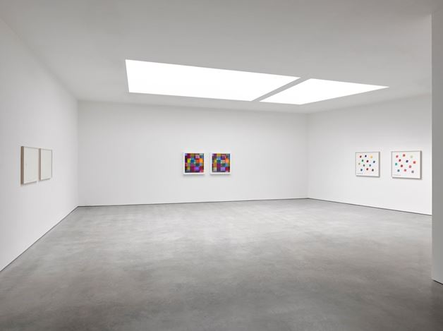 Exhibition view: Spencer Finch, No Ordinary Blue, Lisson Gallery, Lisson Street, London (15 March–4 May 2019). © Spencer Finch. Courtesy Lisson Gallery.