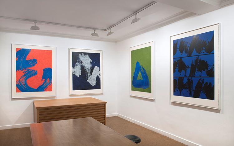 Exhibition view: Fabienne Verdier, Silencieuses coïncidences, Galerie Lelong & Co, Paris (30 November-20 January 2018). Courtesy Galerie Lelong & Co, Paris.