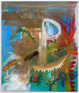 u.b.B. 6 by Albert Oehlen contemporary artwork painting