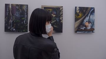 Contemporary art exhibition, Sun Woo, soloshow : On at Gallery Chosun, Seoul