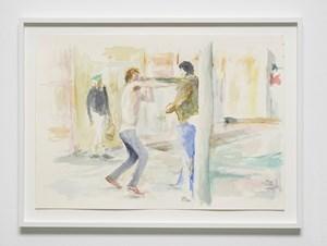Dans la rue, 12 by John Kelsey contemporary artwork