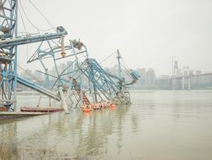 Abandoned Boats by Zhang Kechun contemporary artwork