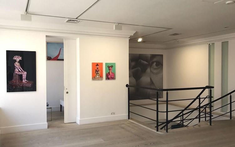 Exhibition view: Group Exhibition, Photography Exhibition, Gazelli Art House, London (4 May–2 June 2018). Courtesy Gazelli Art House.