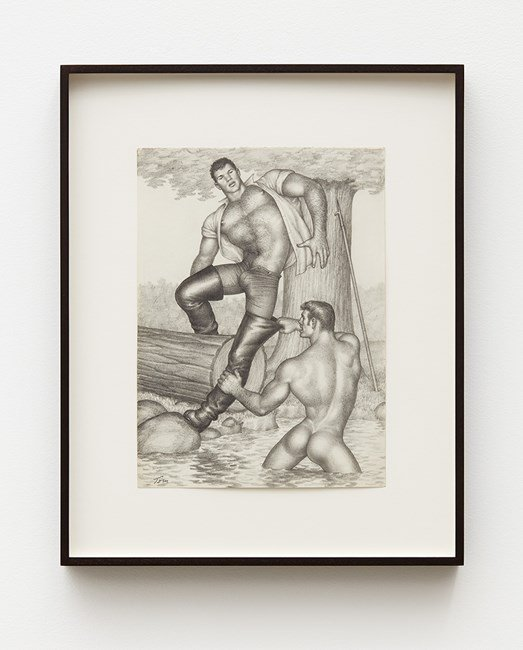 Untitled by Tom of Finland contemporary artwork