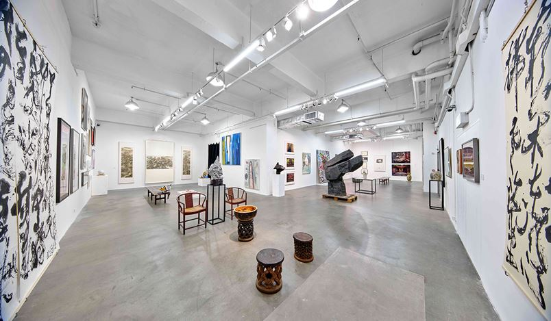 Exhibition view: Moving 搬屋, Hanart TZ Gallery, Hong Kong (20 June–1 August 2020). Courtesy Hanart TZ Gallery. Photo: Kitmin Lee